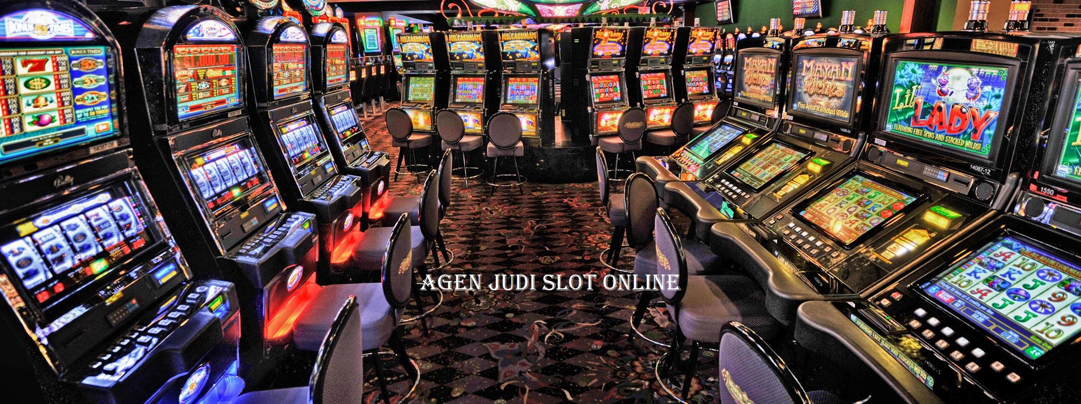 Agen Judi Slot Mesin Online