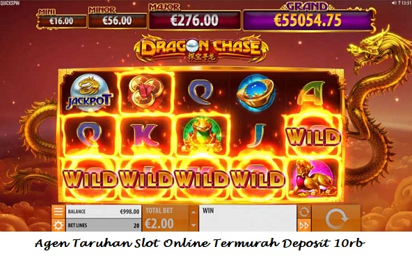 Agen Taruhan Slot Online Termurah Deposit 10rb