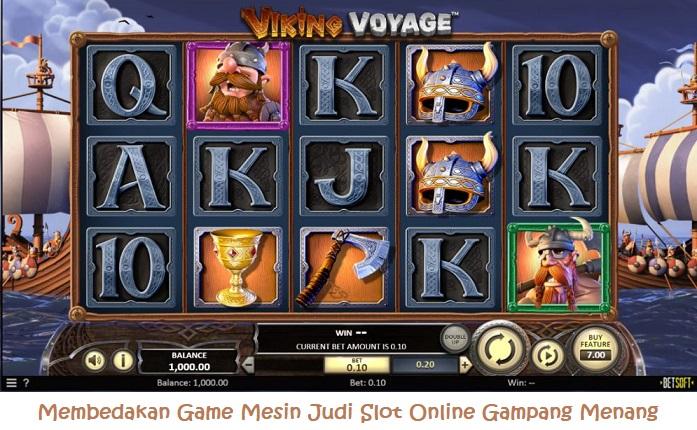 Membedakan Game Mesin Judi Slot Online Gampang Menang