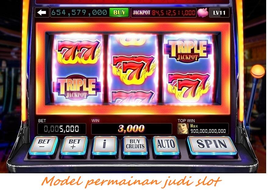 Model permainan judi slot
